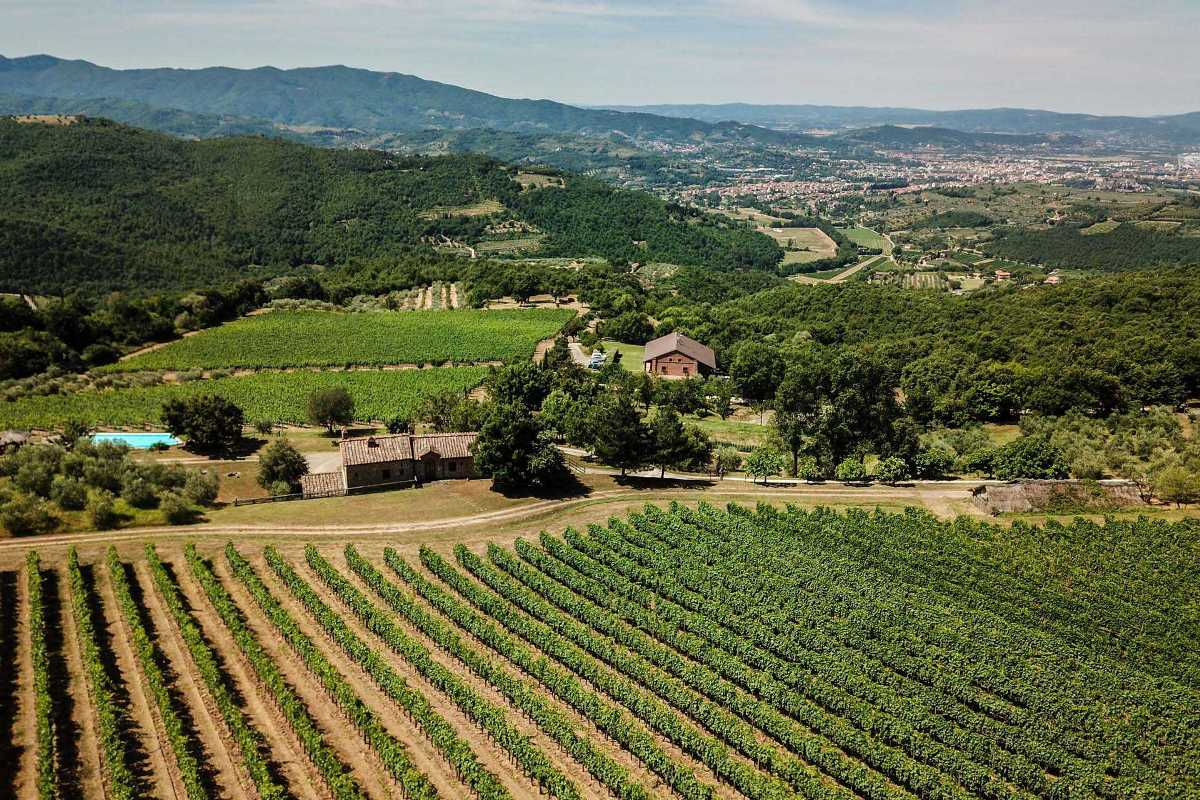 ORGANIC FARM FOR SALE IN CHIANTI, AREZZO, TOSCANA